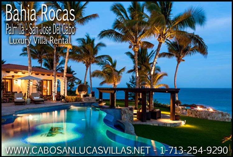 Bahia Rocas San Jose Del Cabo Mexico Beachfront Villa Rental Cabo San Lucas Villa Rentals Sales 1 713 254 9290
