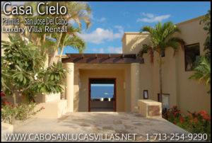 Casa Cielo Luxury Cabo San lucas Villa Rental