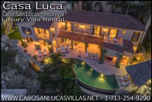 Casa Luca Cabo San Lucas Private Villas