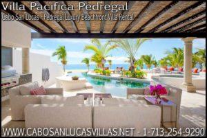 Villa Pacifica Pedrega Cabo San Lucas All Inclusive Luxury Vacation Villa Rental