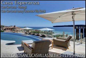 Casa Esperanza Cabo San Lucas Pedregal Luxury Villa Rental All Inclusive Vacation