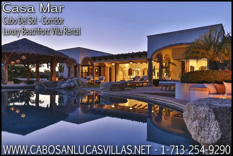 Casa Mar Beachfront Villa Rental Cabo San Lucas Mexico